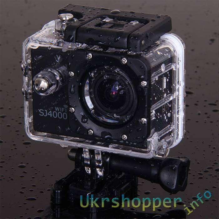 GearBest: Скидка на экшен-камера SJ4000 с WIFI до .99 с бесплатной доставкой! Ограниченное количество!!!