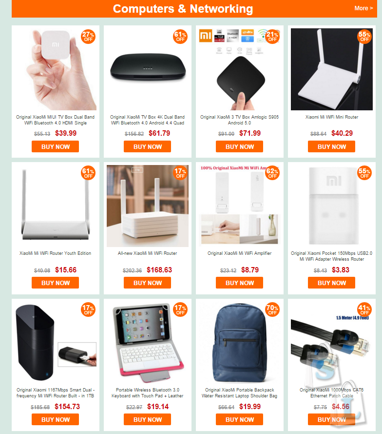 GearBest: Большая распродажа популярных товаров от Xiaomi скидки и низкие цены