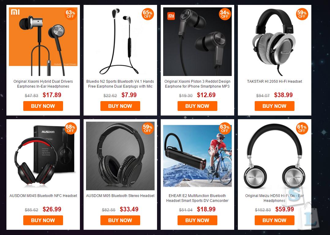 GearBest: Черная пятница - распродажа Экшен камер от Gearbest
