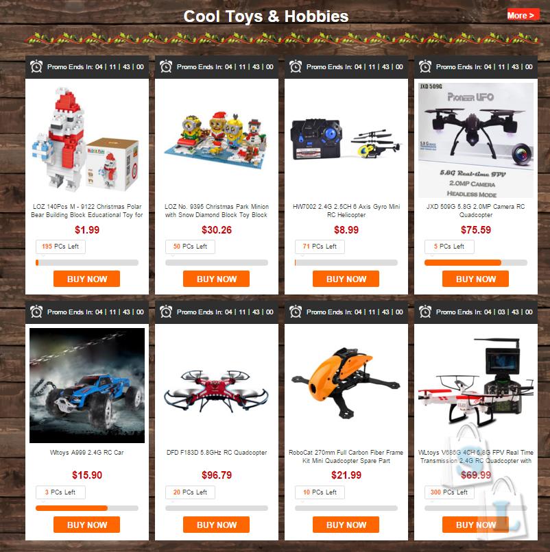 Огромная предновогодняя распродажа от GearBest низкие цены