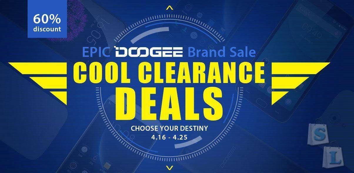 GearBest: Отличная распродажа Doogee