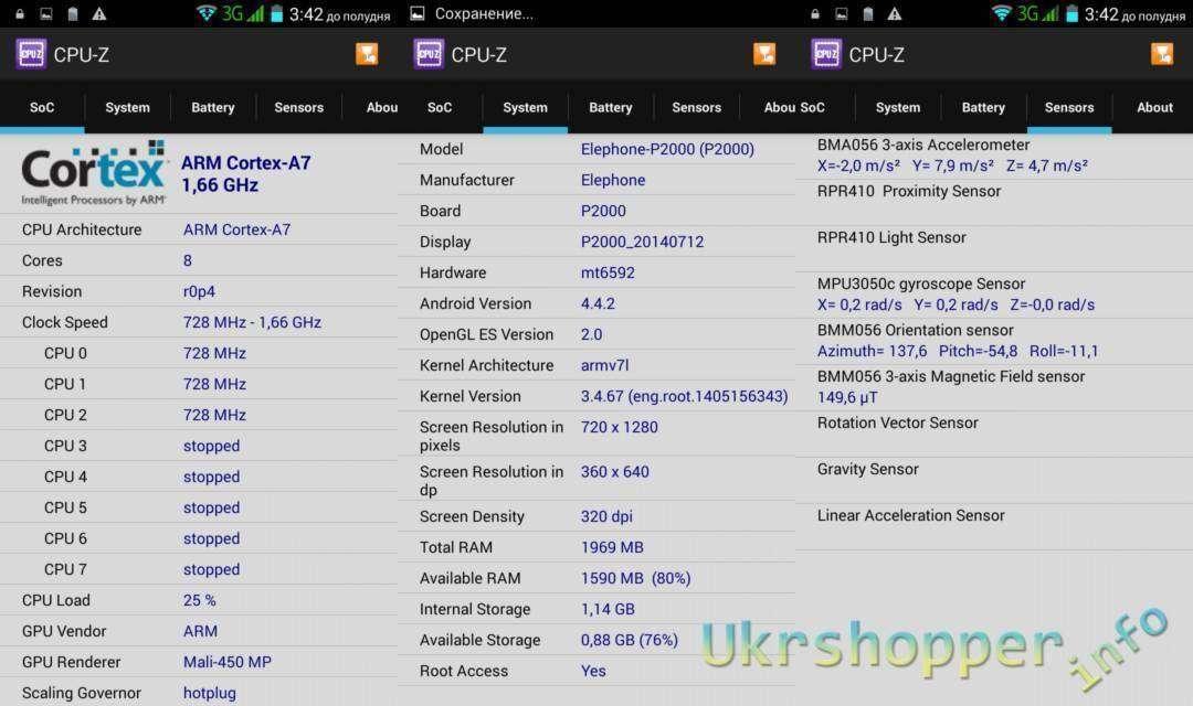 CooliCool: Обзор смартфона Elephone P2000