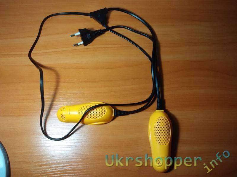 DealExtreme: Сушилка для обуви Осень-1