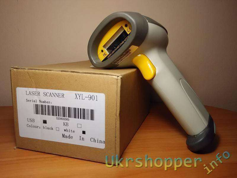 DealExtreme: Проводной сканер штрих кодов