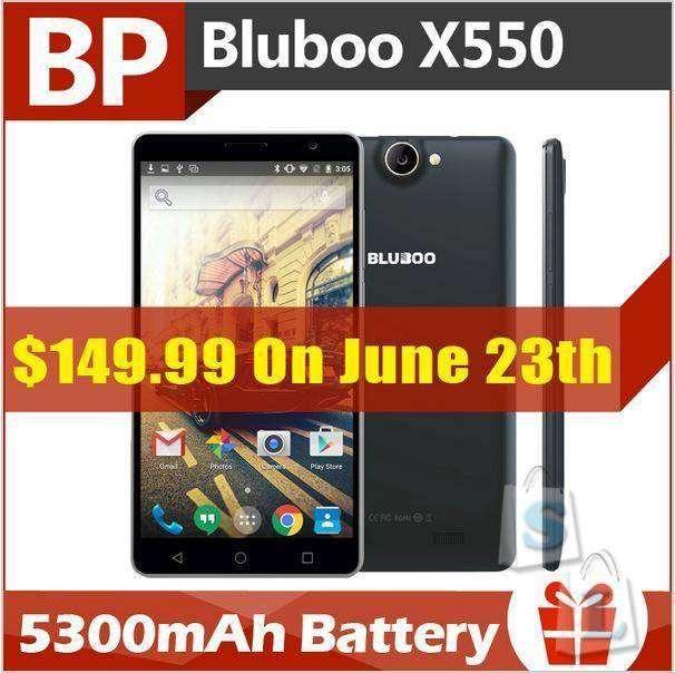 Aliexpress: Скидка 12% на смартфон Bluboo X550