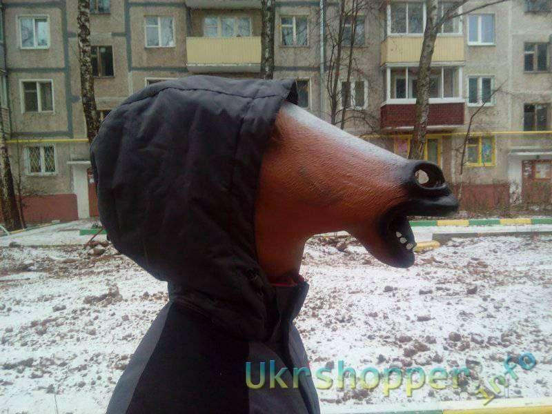 Banggood: Маска лошади - символ уходящего года