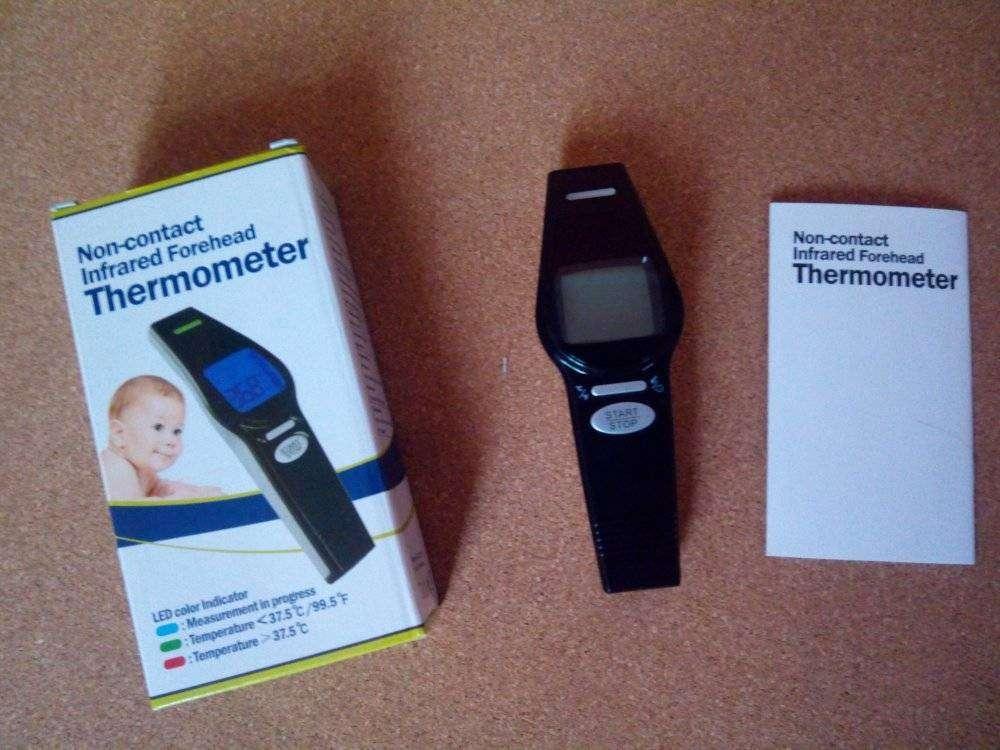 Aliexpress: Инфракрасный медицинский термометр — бесконтактные измерения