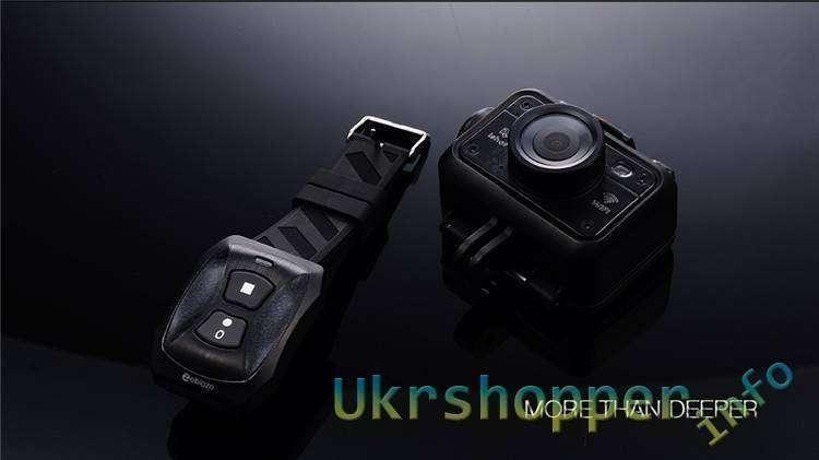 CooliCool: Купон на скидку 16 долларов для action camera ZEBLAZE ISHOT1