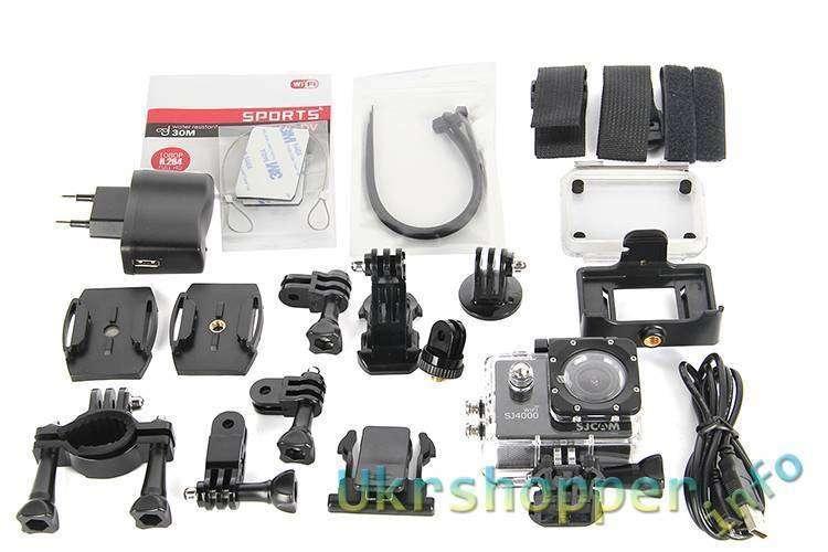 CooliCool: Купон на скидку 24.55 долларов для SJCAM SJ4000 этого видеокамера! давайте!