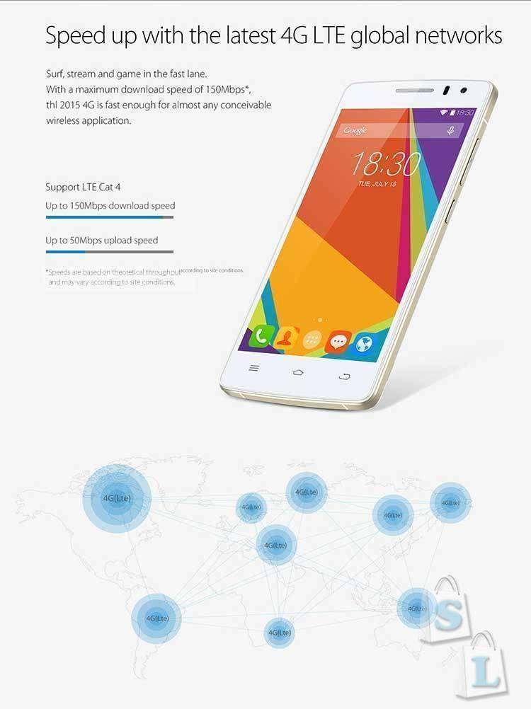 CooliCool: Купон на скидку 18.8 долларов для THL 2015 этого телефона!