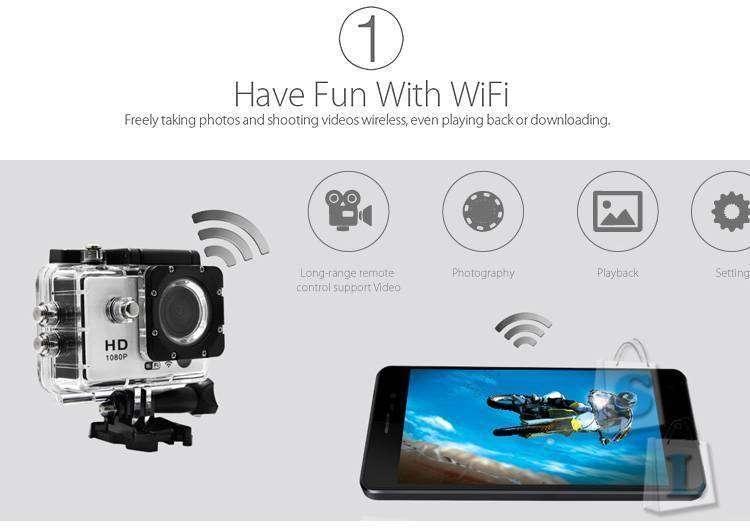 CooliCool: Стильная и мощная спортивная камера - BLACKVIEW DV800A HERO