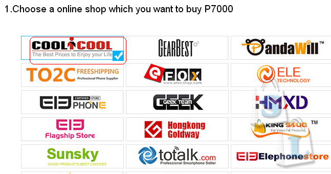 CooliCool: Очень хорошая акция для ELEPHONE P7000 от сoolicool!
