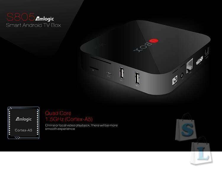 CooliCool: Купон для UBOX Amlogic S805 этого TV Box