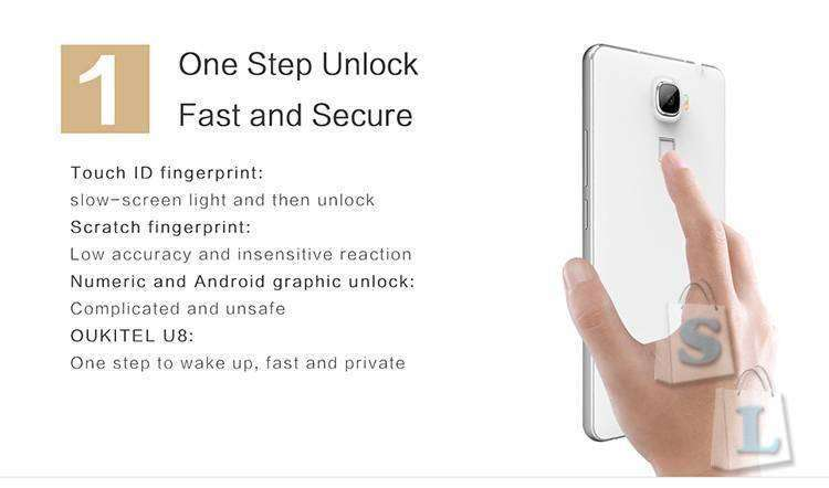 CooliCool: Пред-продажа - телефон OUKITEL U8 Universe Tap