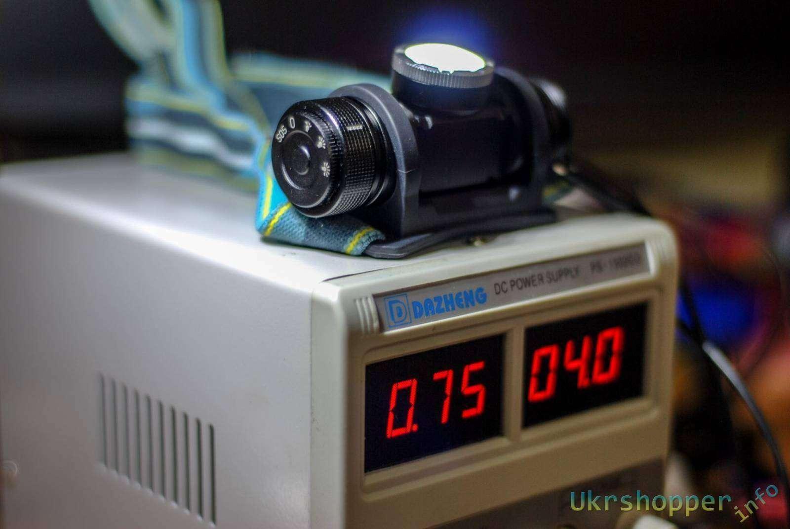 GearBest: Обзор налобного фонарика Rayfall H1L