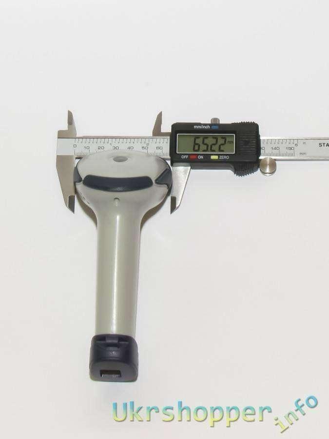 Tmart: Обзор недорогого, компактного лазерного USB сканера штрих кодов