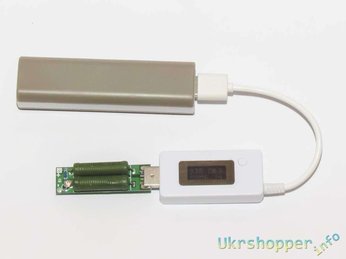 GearBest: Отличный USB тестер с нагрузкой + допиллинг