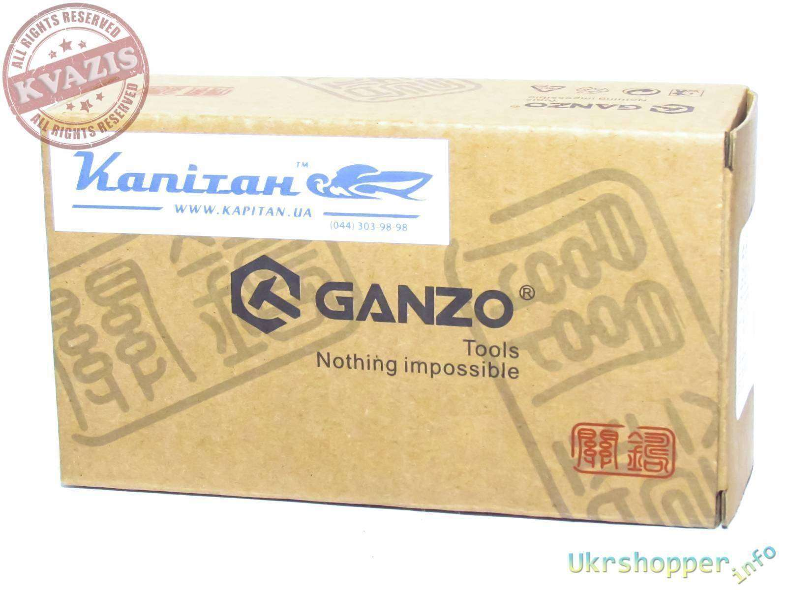Другие - Украина: Мультитул Ganzo G202-B - Мастерская в рюкзаке