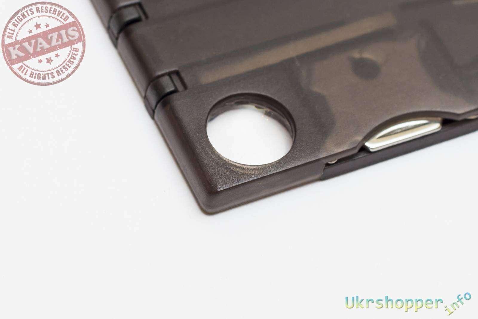 Banggood: Обзор микро мультитула размером с кредитную карточку