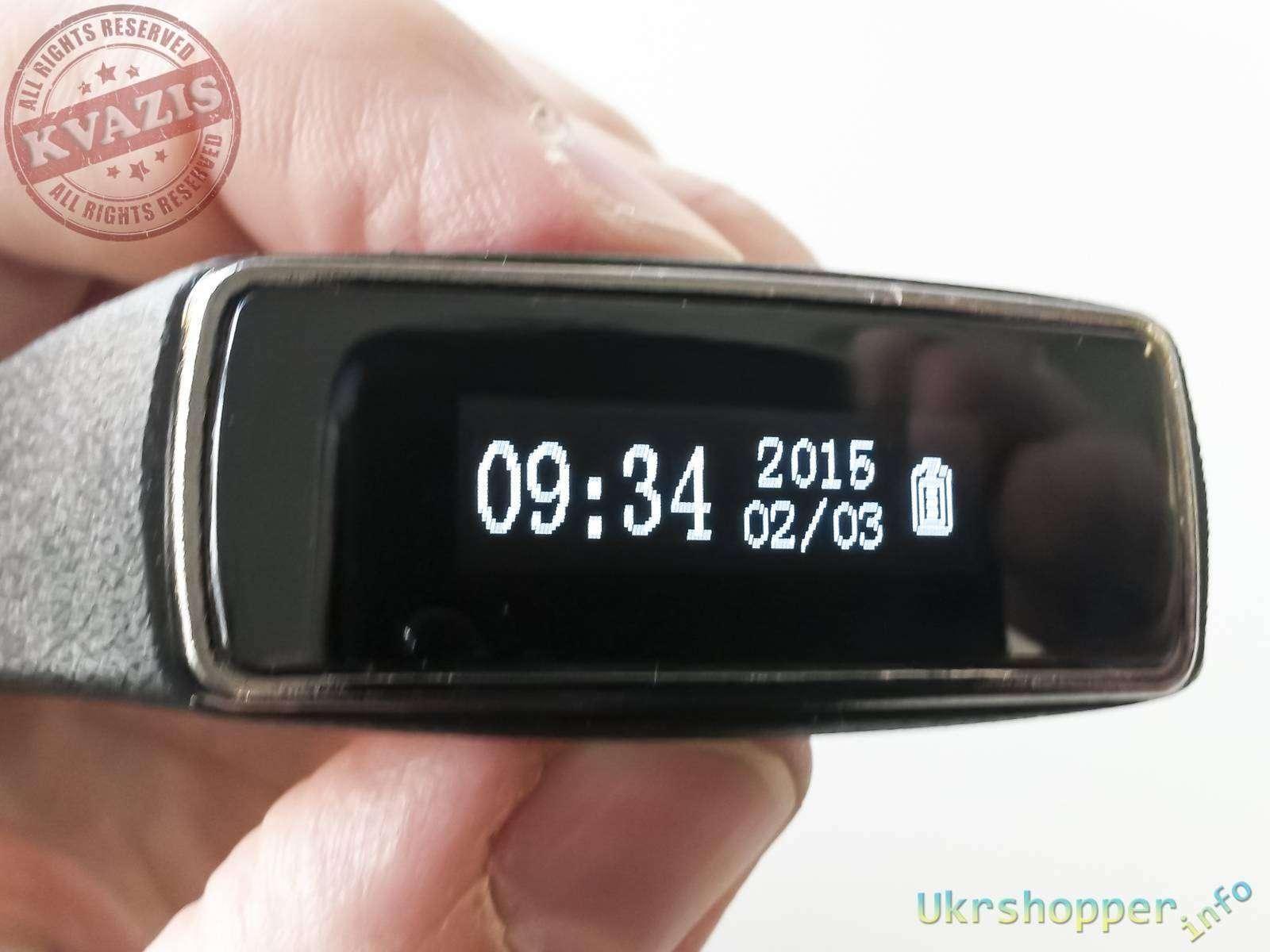 Banggood: Обзор спортивного смарт браслета с Bluetooth