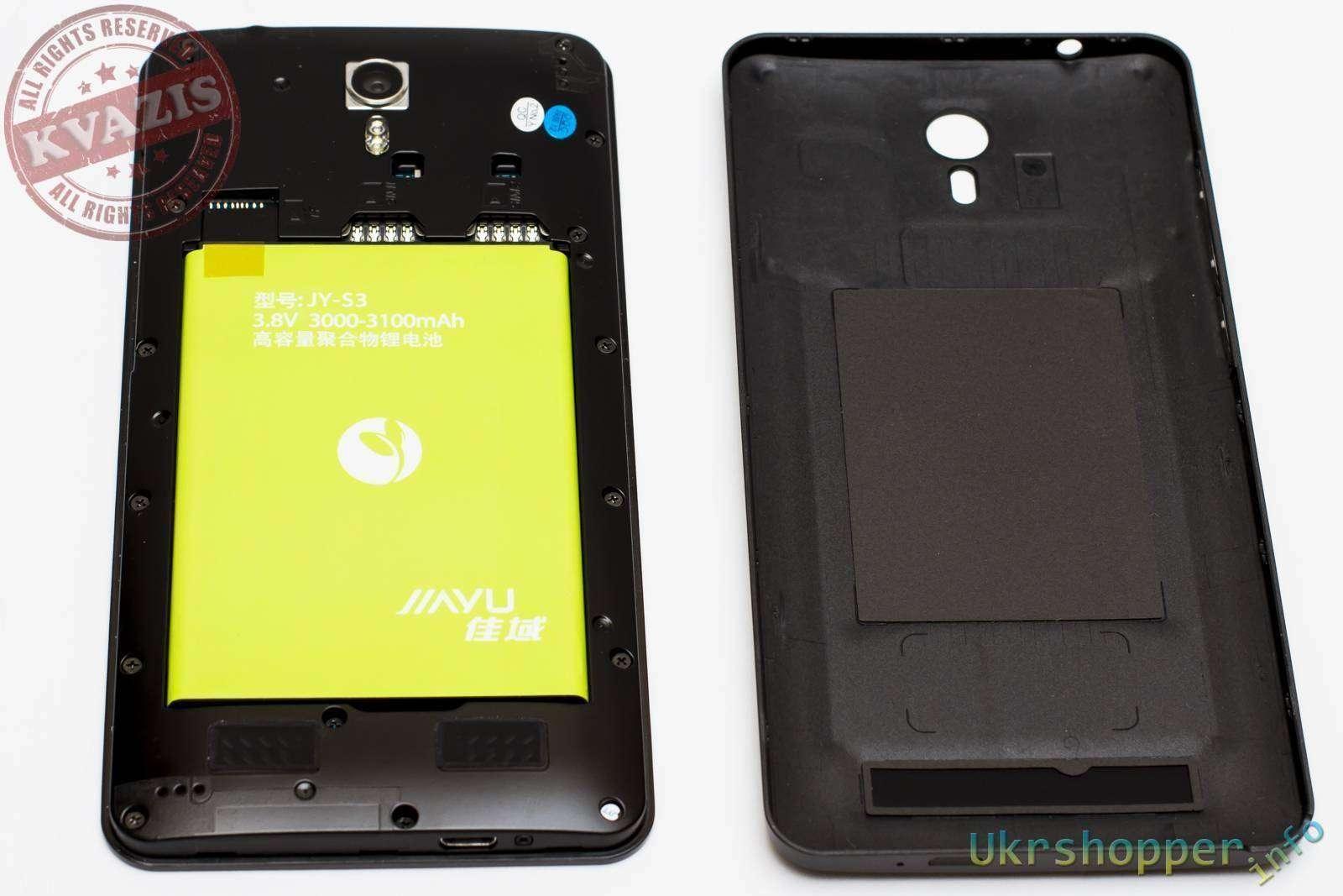 Aliexpress: Обзор фаблета Jiayu S3, LTE 2GB RAM