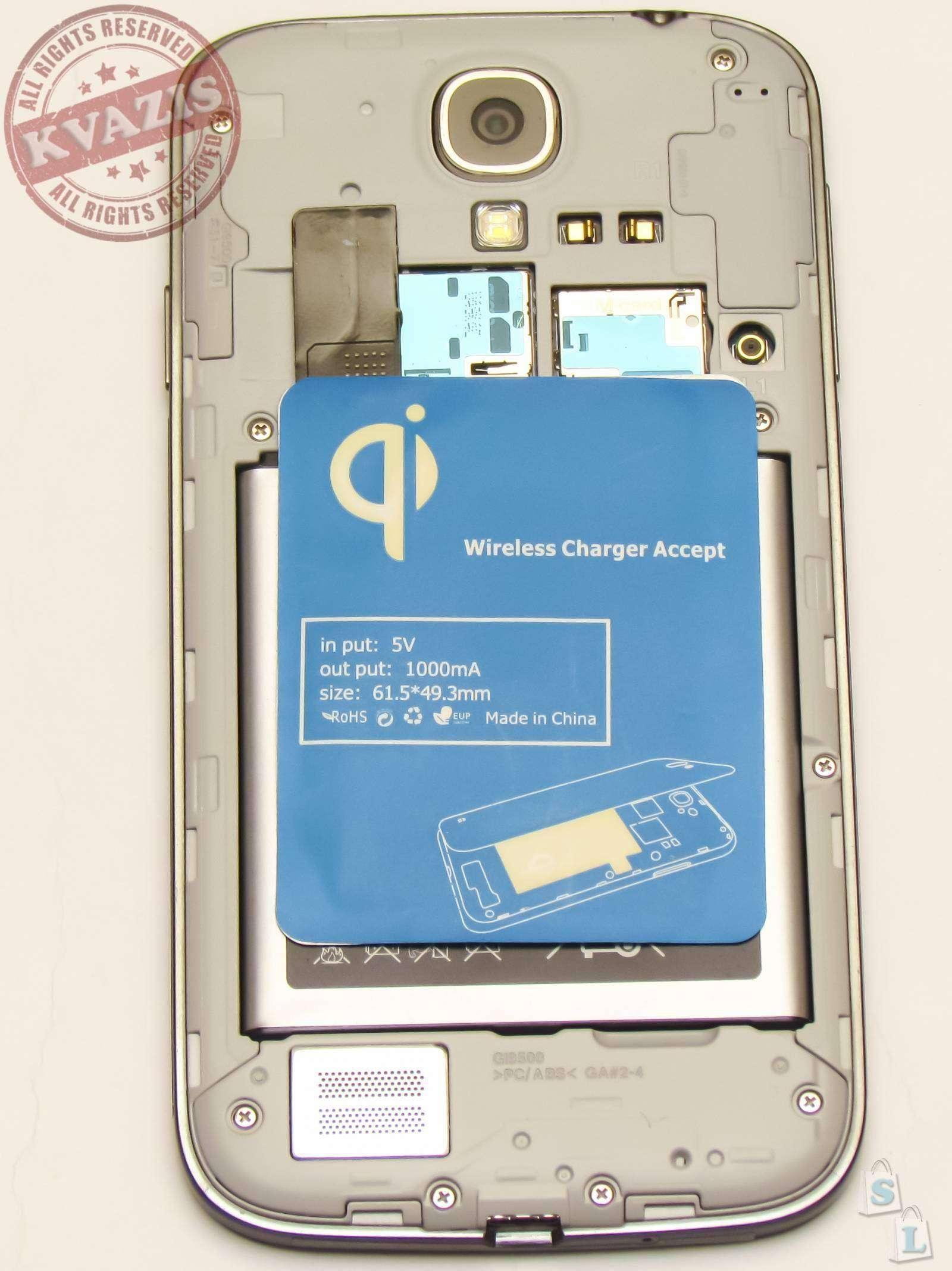 Banggood: Беспроводное зарядное устройство для Samsung Galaxy S4 i9500