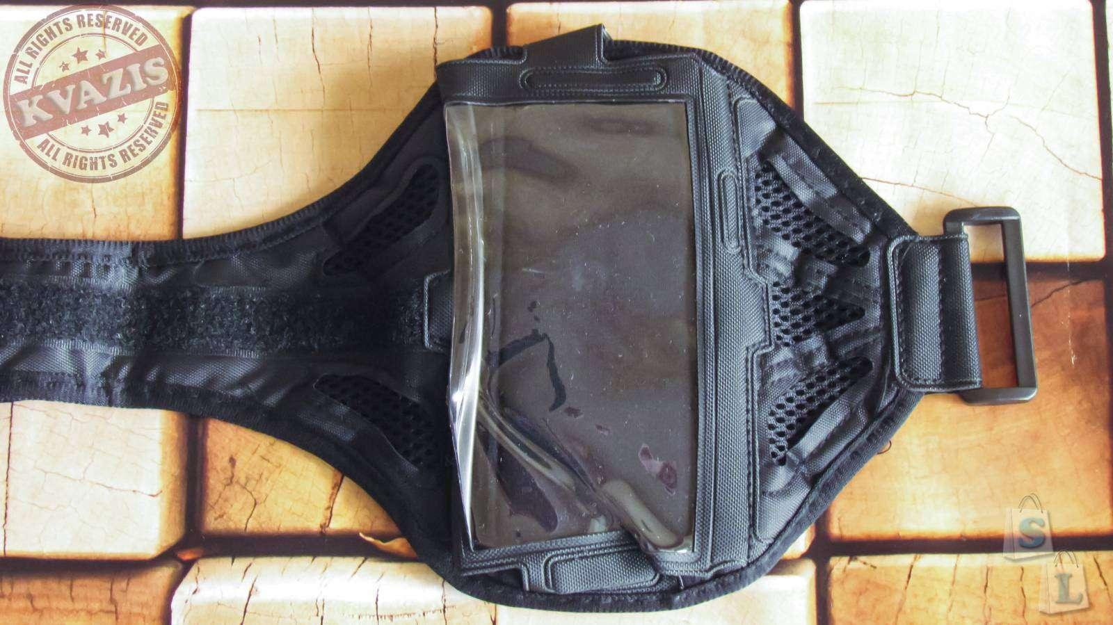 Aliexpress: Спортивный чехол на руку для телефонов с экраном 5-5,5 дюйма