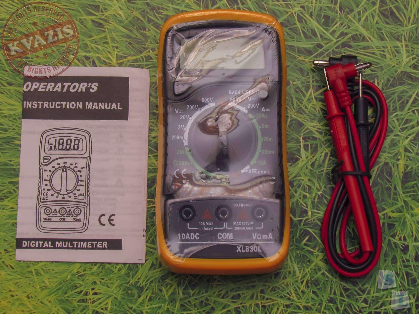 Banggood: Цифровой мультиметр XL830L LCD