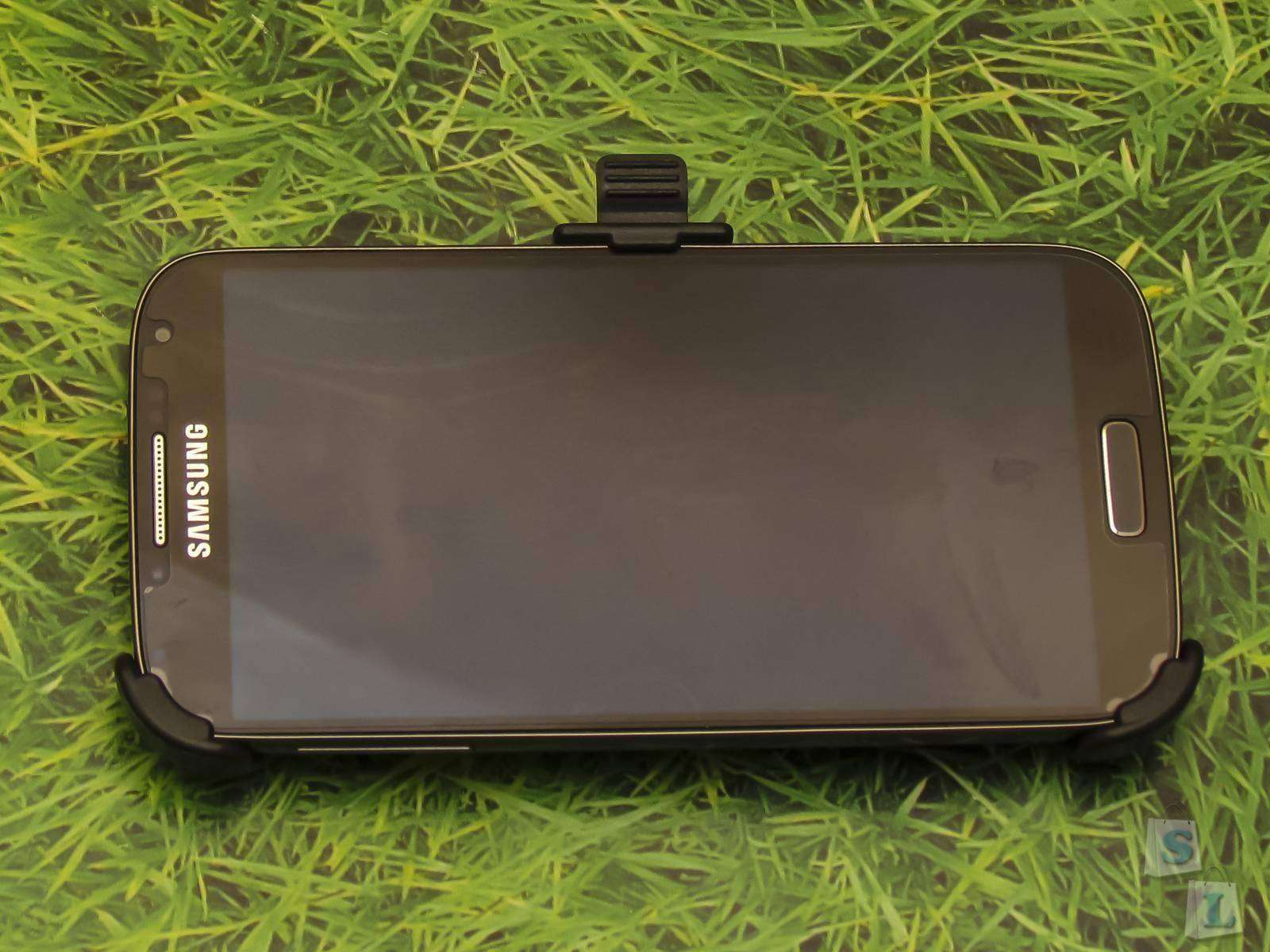 Ebay: Автомобильный держатель для Samsung Galaxy S4 i9500