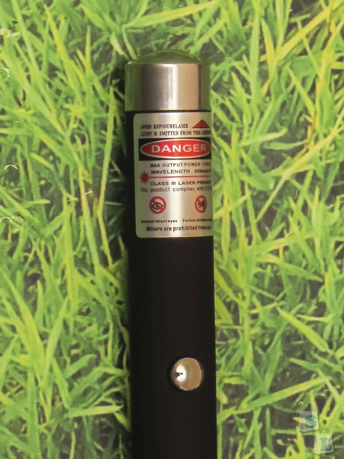Мощная лазерная указка с Aliexpress