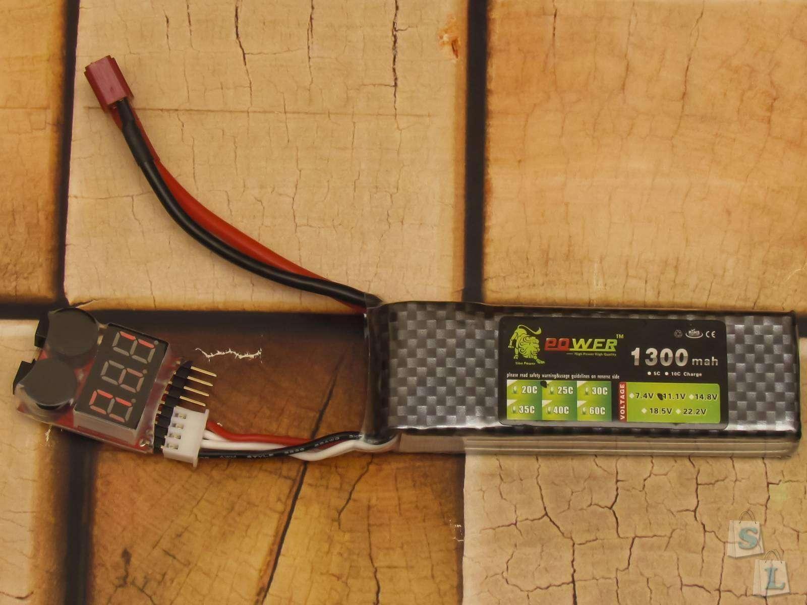 Aliexpress: Контролер разряда LiOn LiPo аккумуляторов