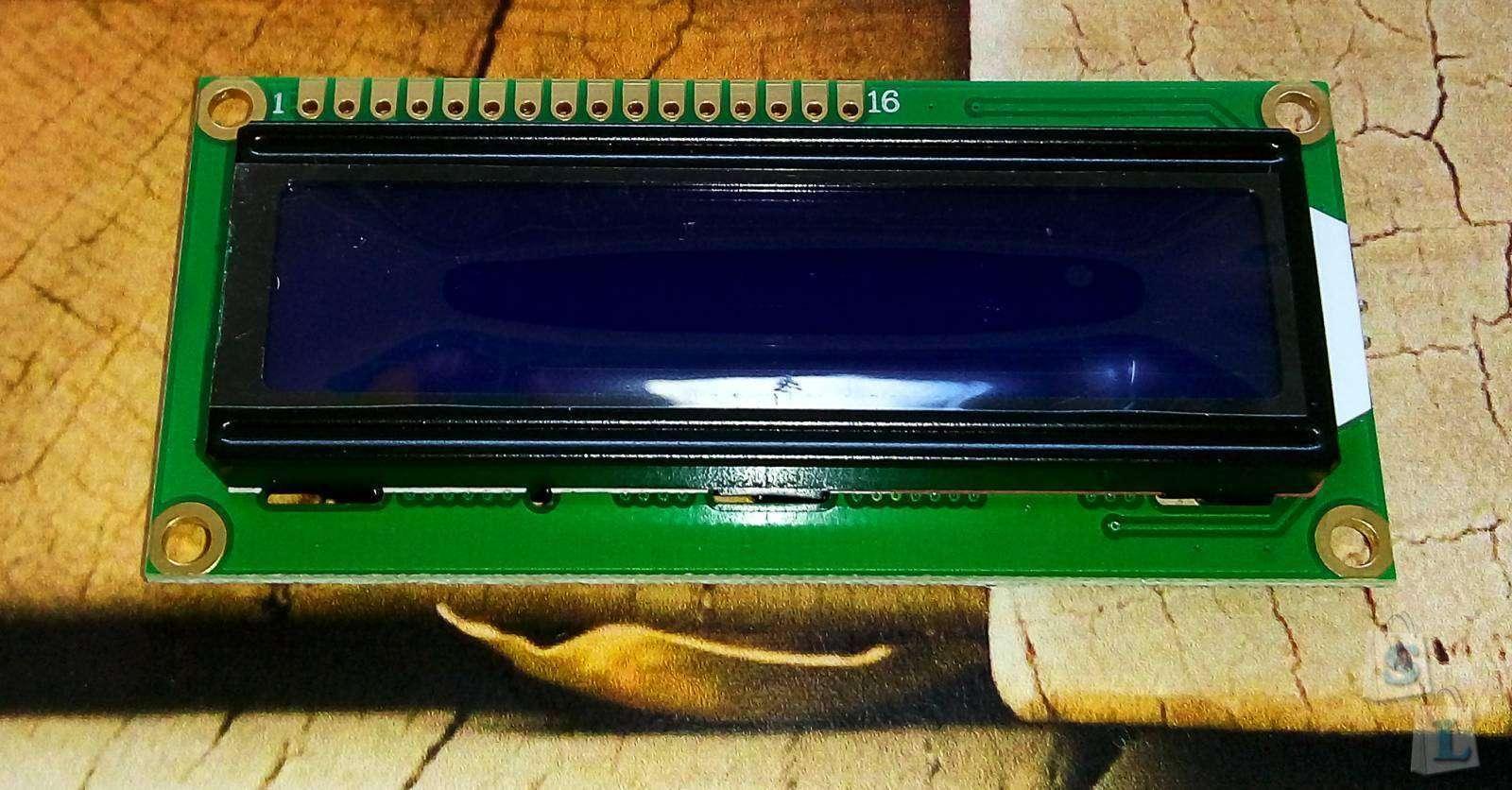 Aliexpress: LCD1602A - замена экрана у Imax B6 mini