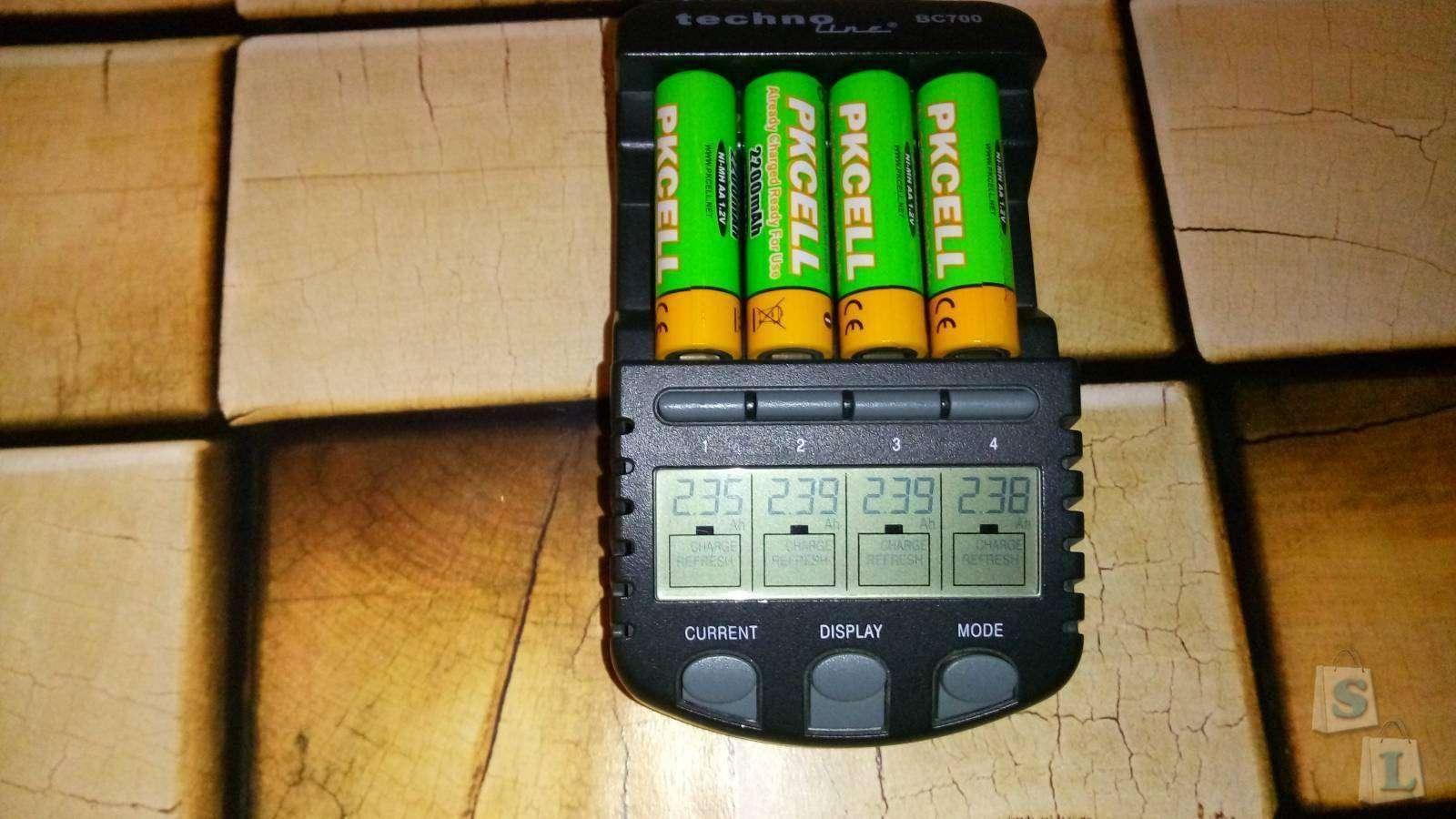 Aliexpress: Отличные AA аккумуляторы PKCELL 2200 мАч