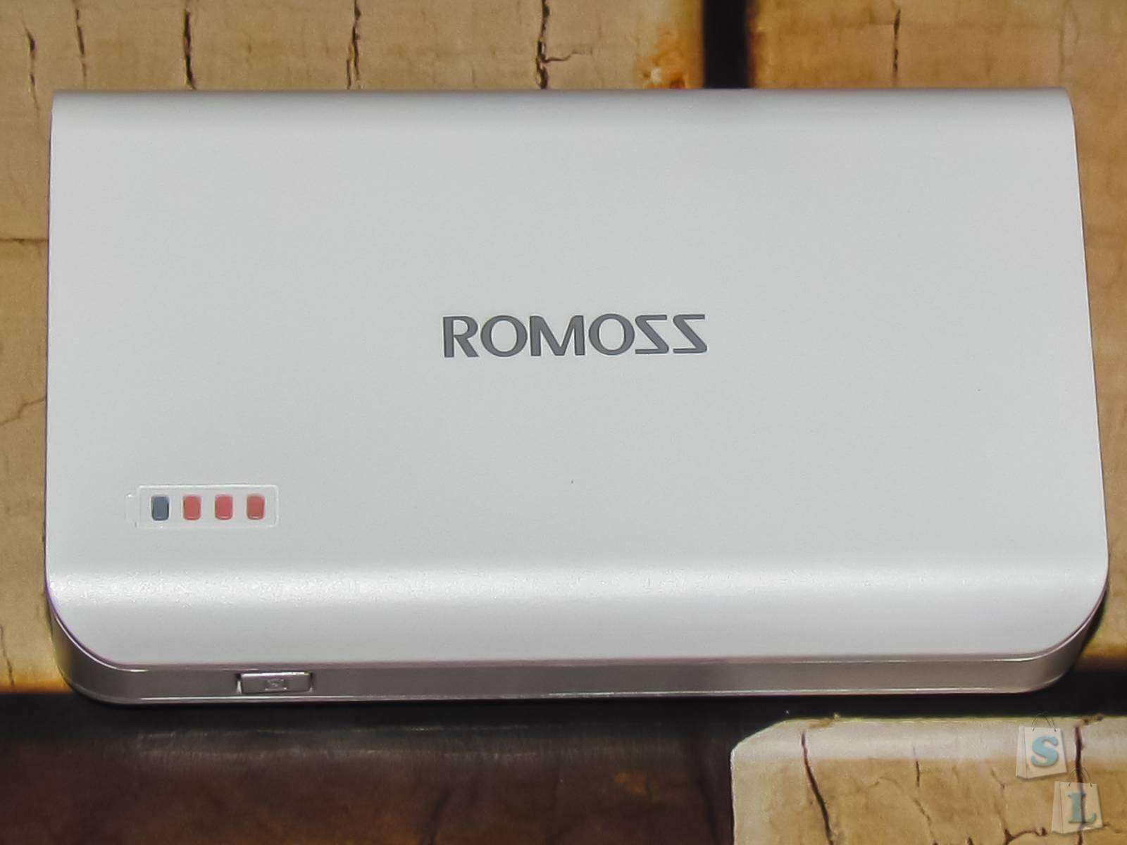 GearBest: Обзор и тест PowerBank ROMOSS Sense 3 Ultra 6000mAh