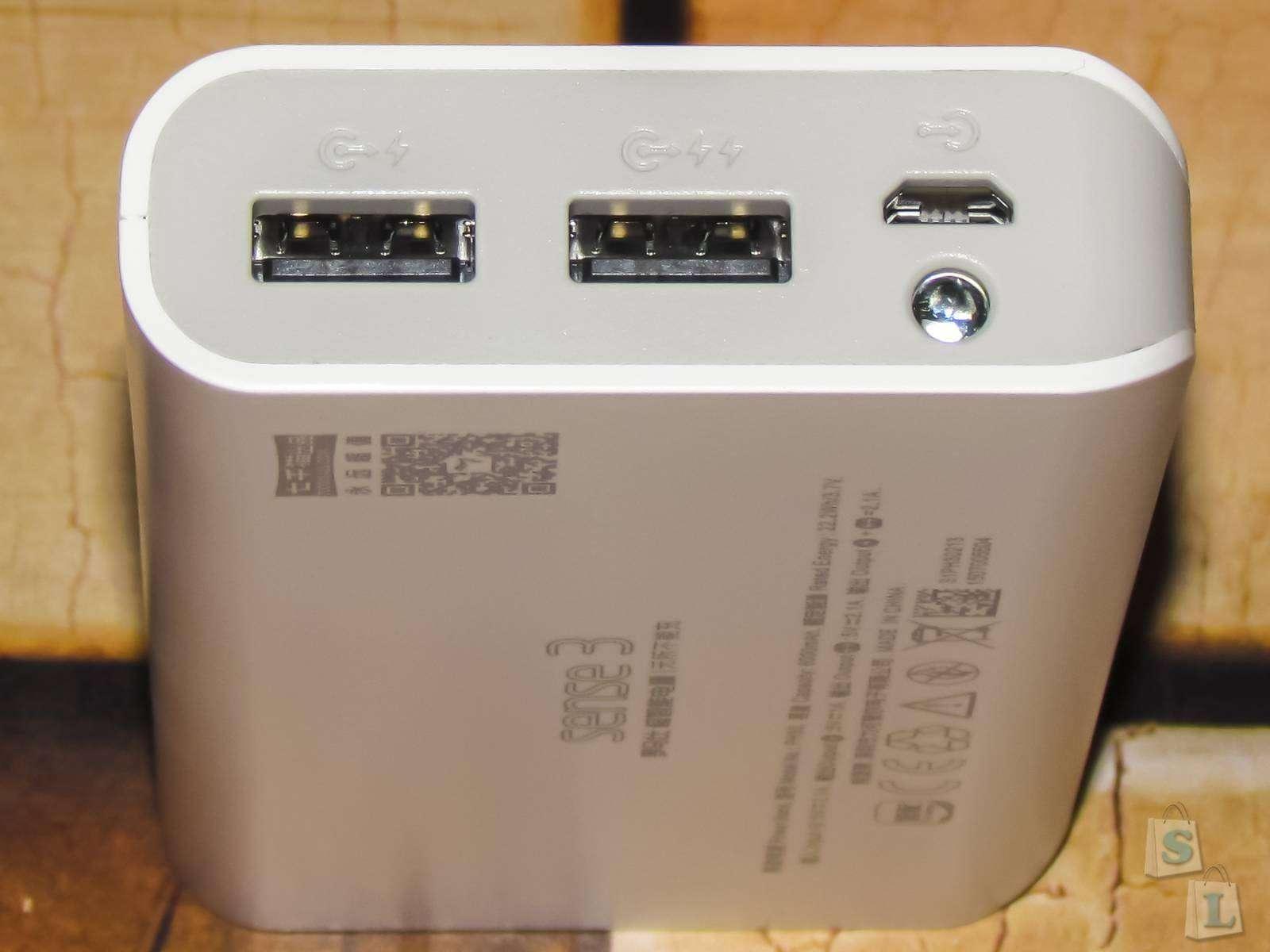 GearBest: Обзор и тест PowerBank ROMOSS Sense 3 Ultra 6000mAh