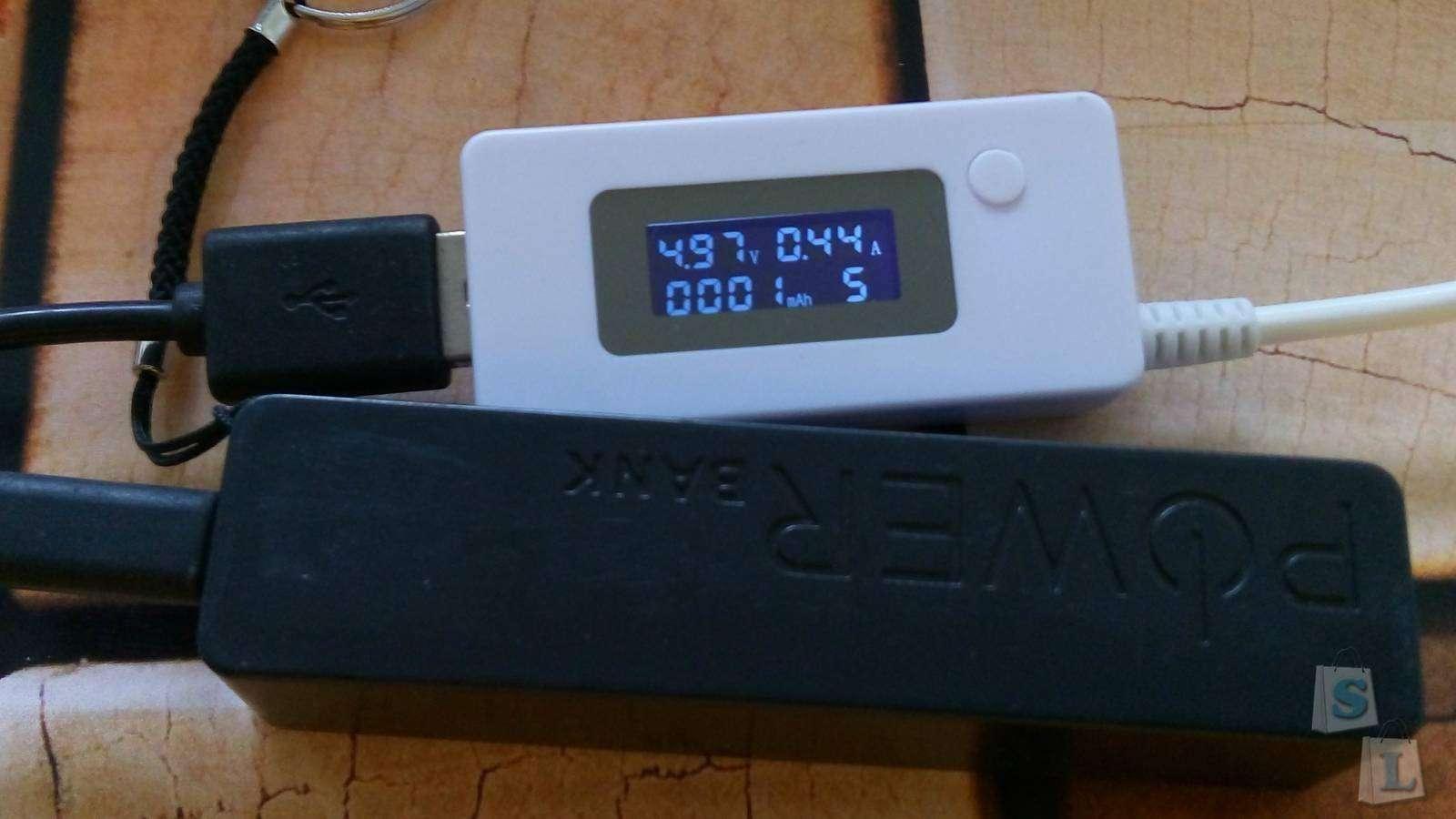 Aliexpress: Простой и маленький Powerbank, который должен быть 2600 mAh с тестом и вскрытием