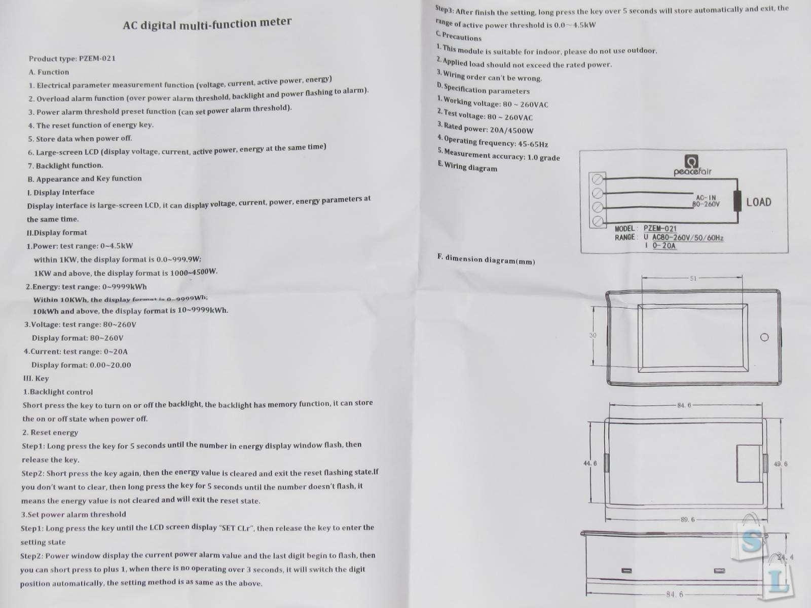 Banggood: Компактный энергомонитор - домашний аудит энергопотребления