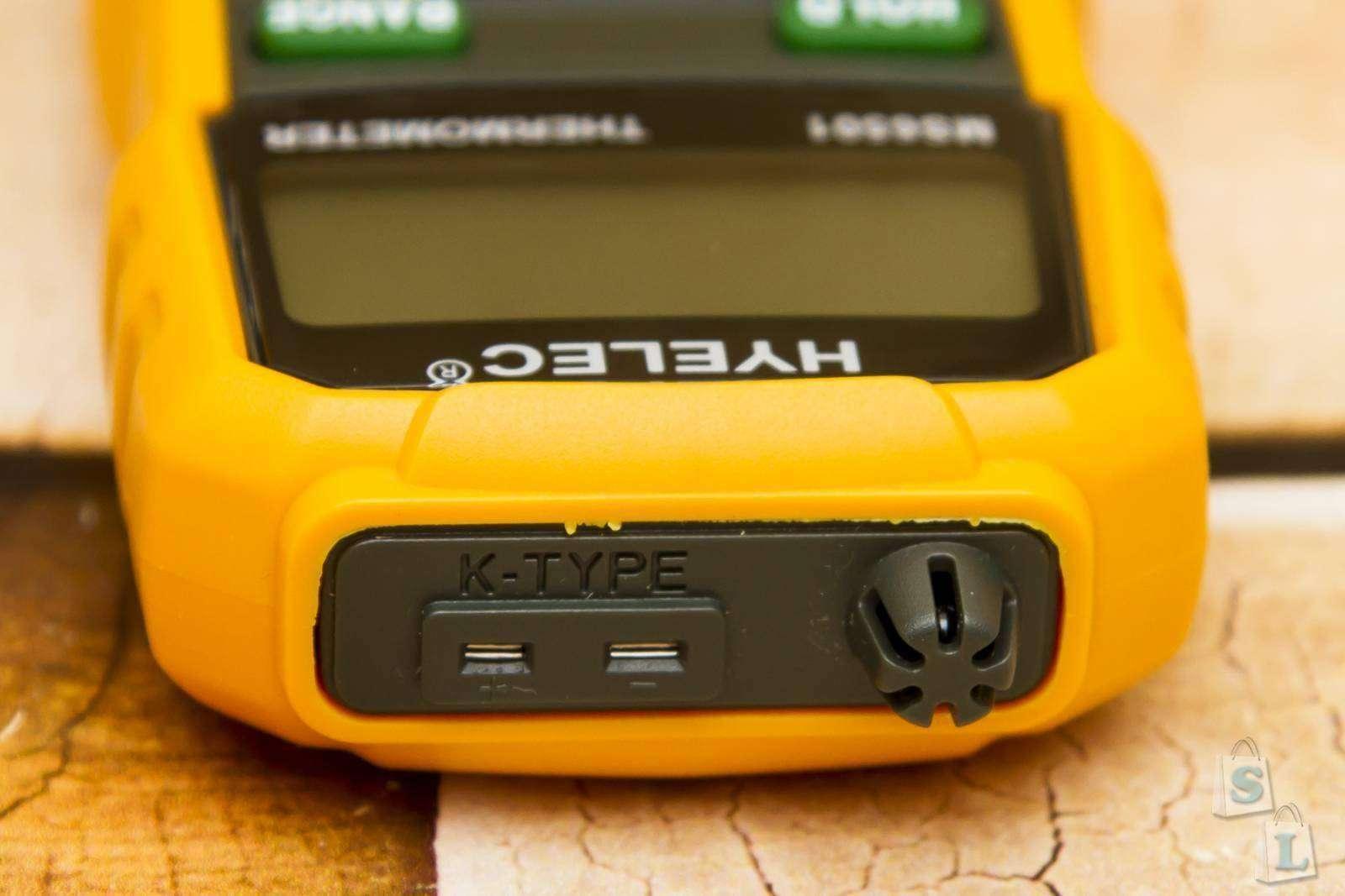 Banggood: Цифровой термометр HYELEC MS6501