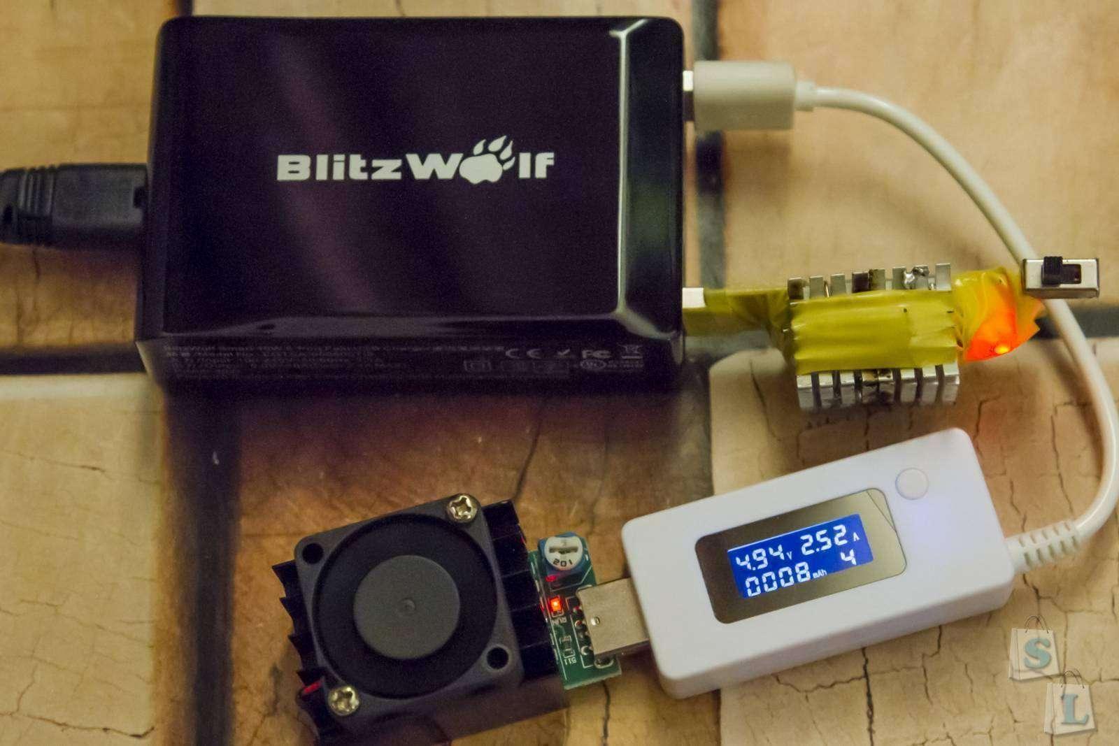 Banggood: Мощная и компактная 5 портовая зарядка BlitzWolf 40W