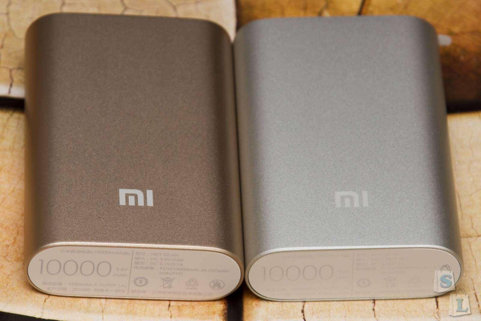GearBest: Золотистый павербанк Xiaomi 10000mAh сравнение и тест мощности