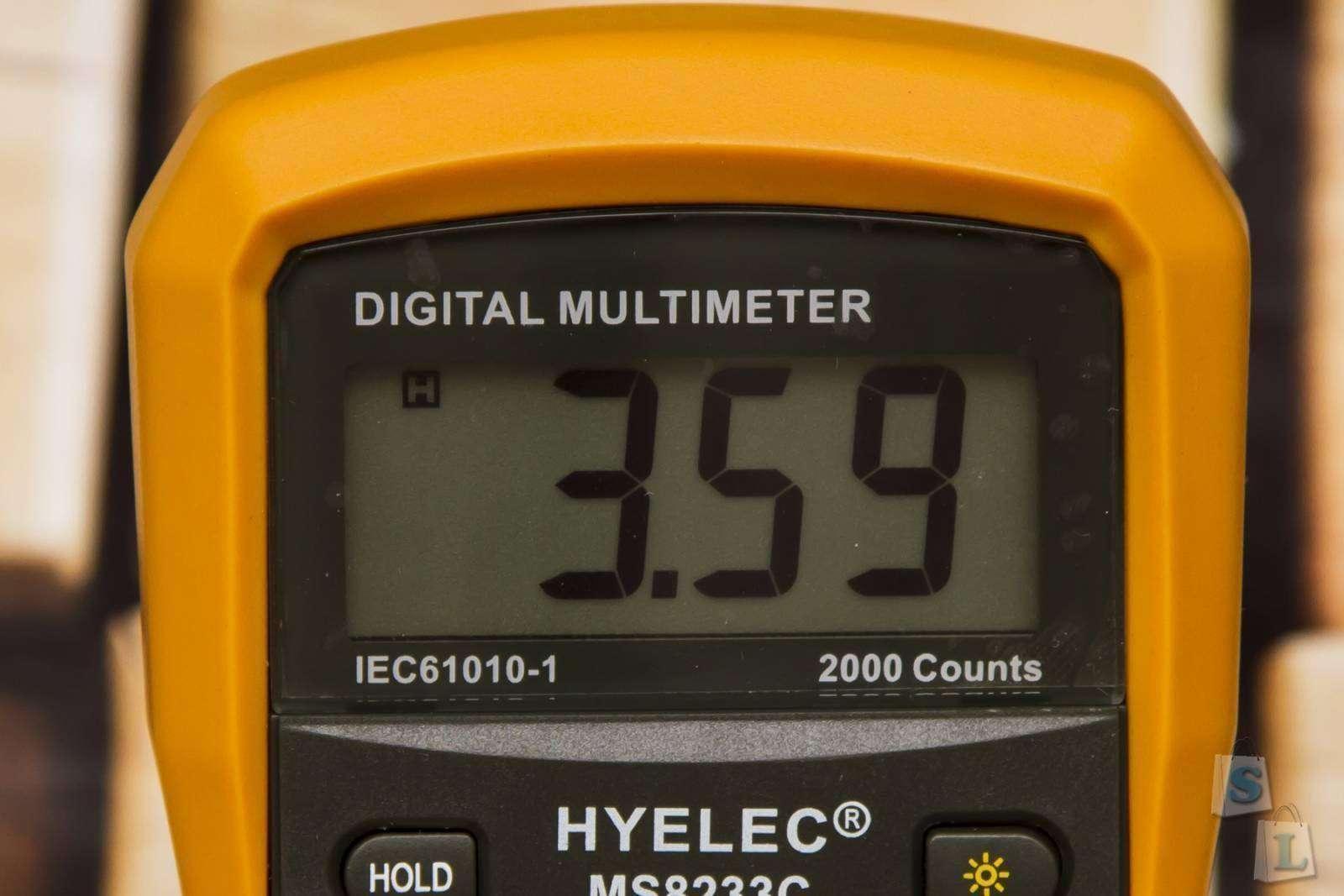 Banggood: Мультиметр HYELEC MS8233C