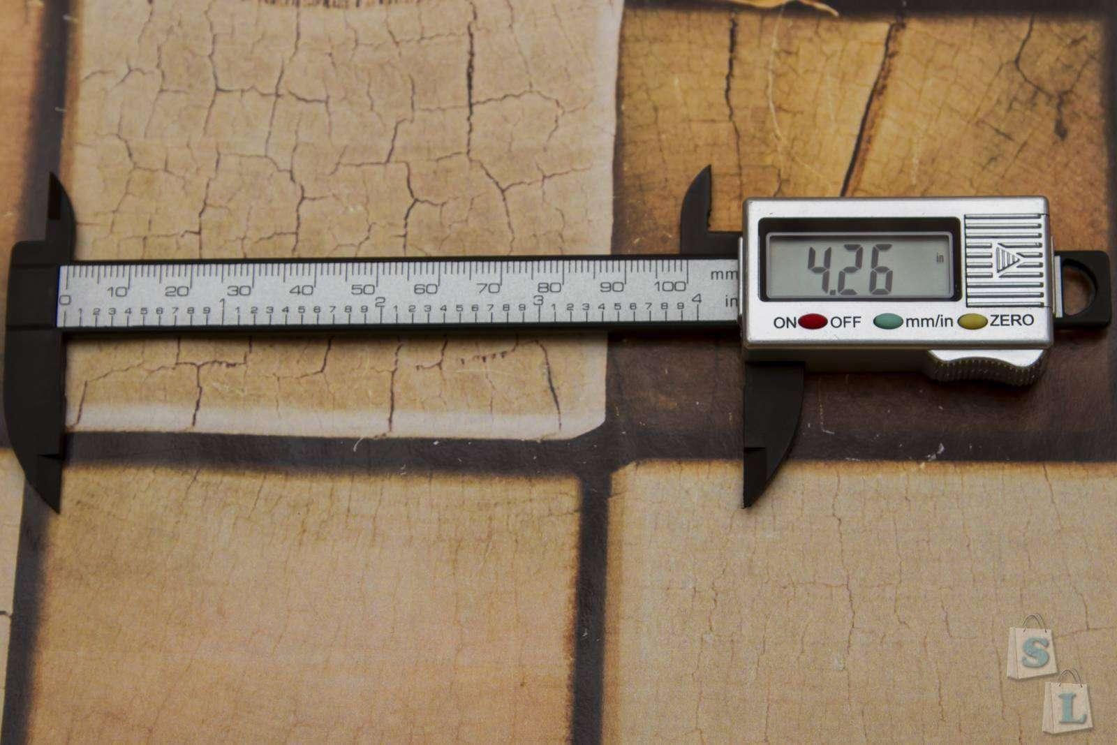 GearBest: Пластиковый штангенциркуль на 10 см