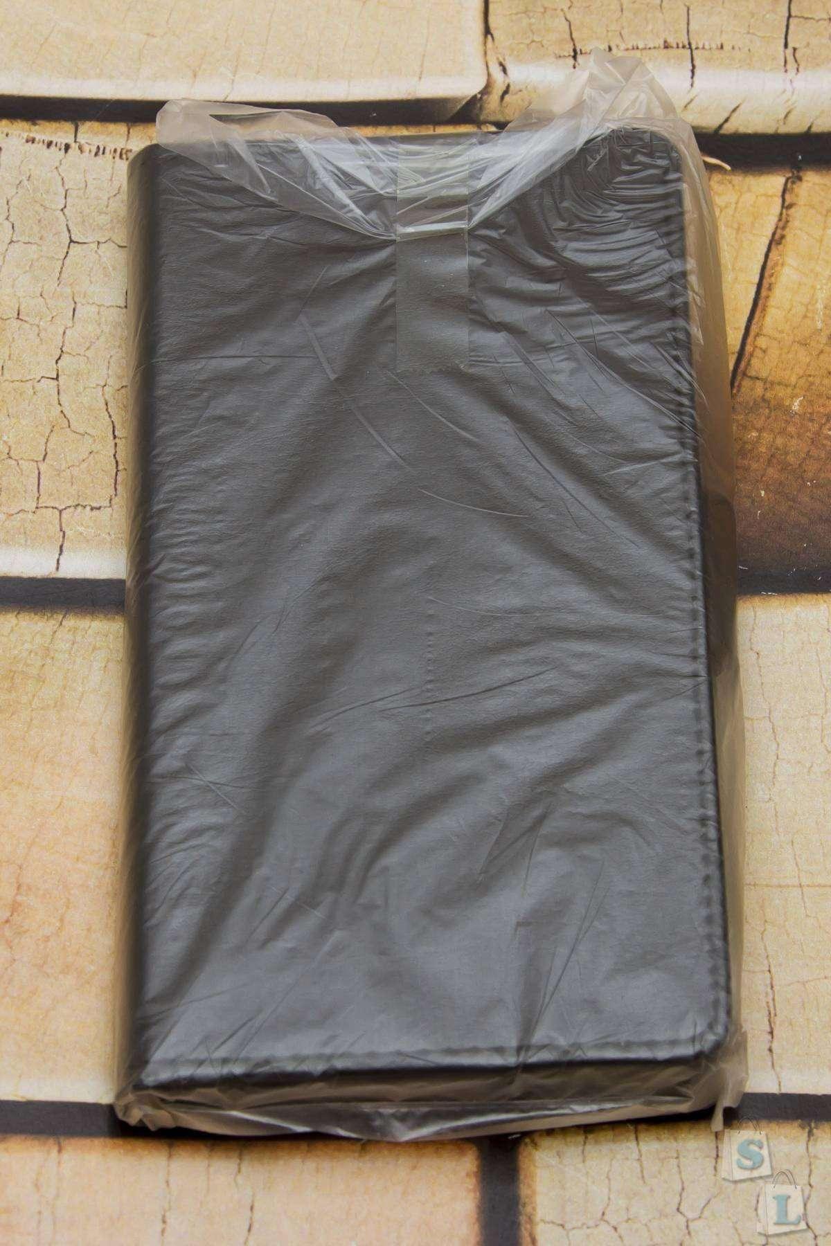 Banggood: Черный чехол - бумажник из PU кожи для XIAOMI REDMI Note 3