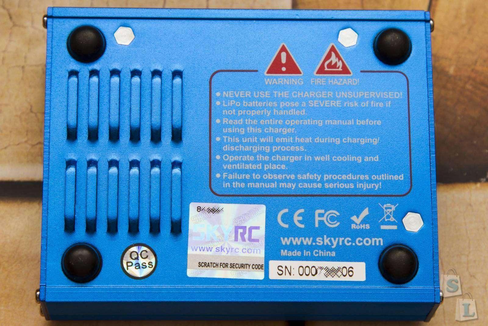 GearBest: Универсальный помощник моделистов SKYRC iMAX B6 Mini - проверка на оригинальность