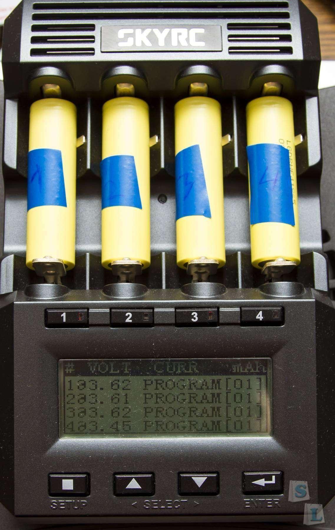 GearBest: Обзор и тестирование Li - ion аккумуляторов LG DBHE4 18650 2500mAh 20A