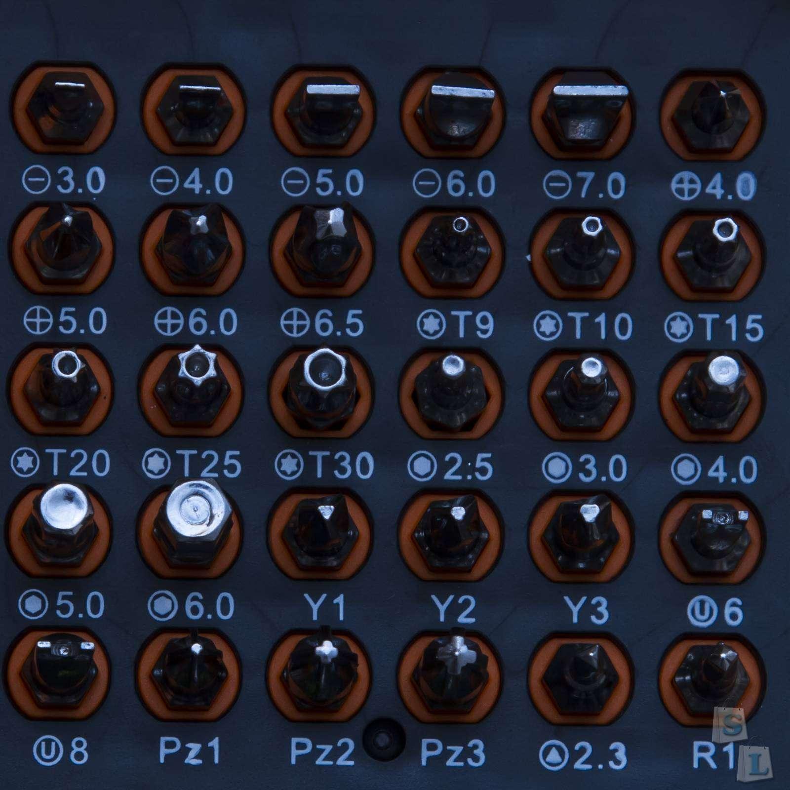 Banggood: Офигительный набор отверток - JAKEMY JM-6110 72 In1