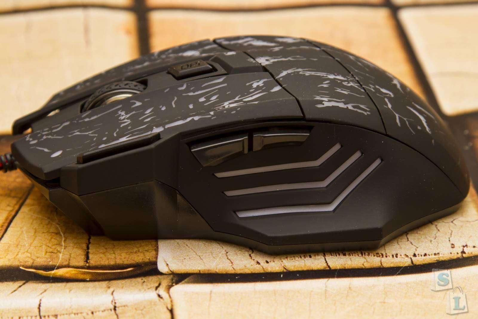 GearBest: Игровая мышь с светодиодной подсветкой