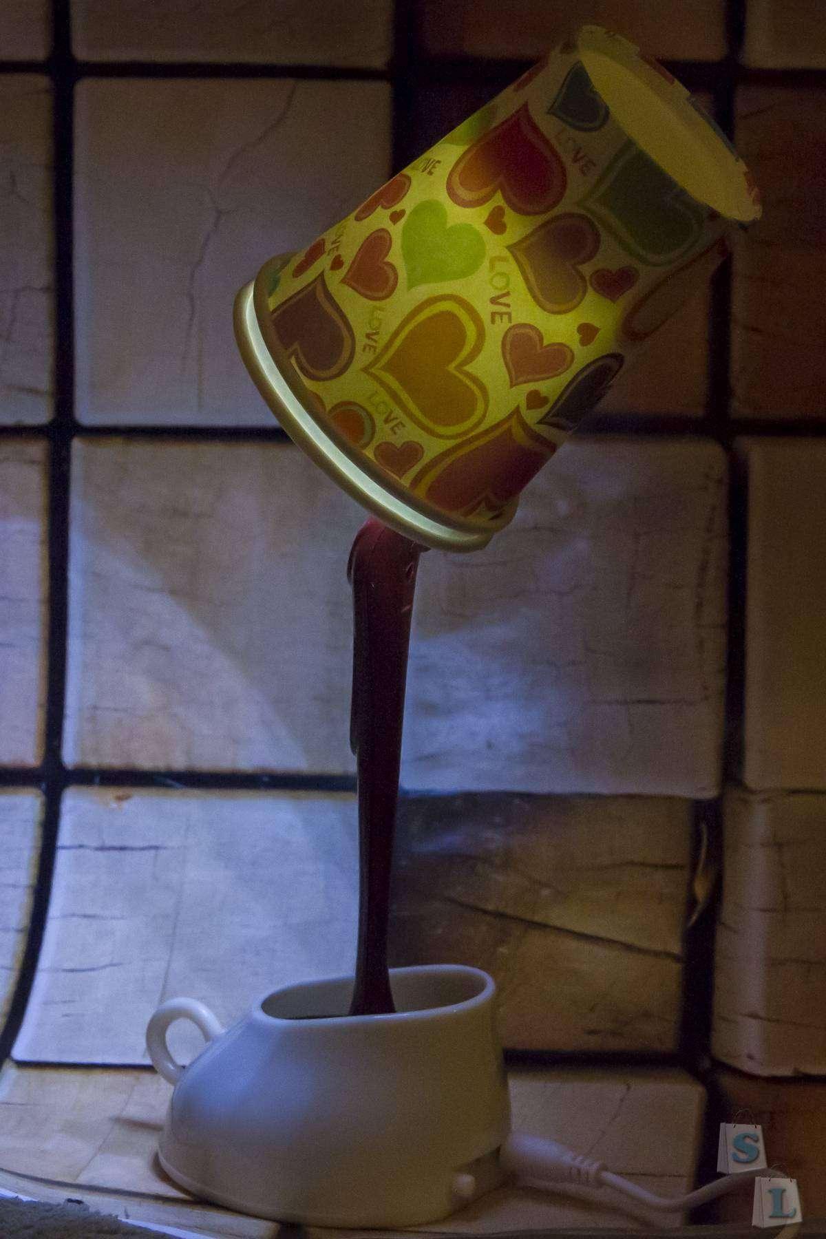 GearBest: Интересный ночник в виде чашки с шоколадом