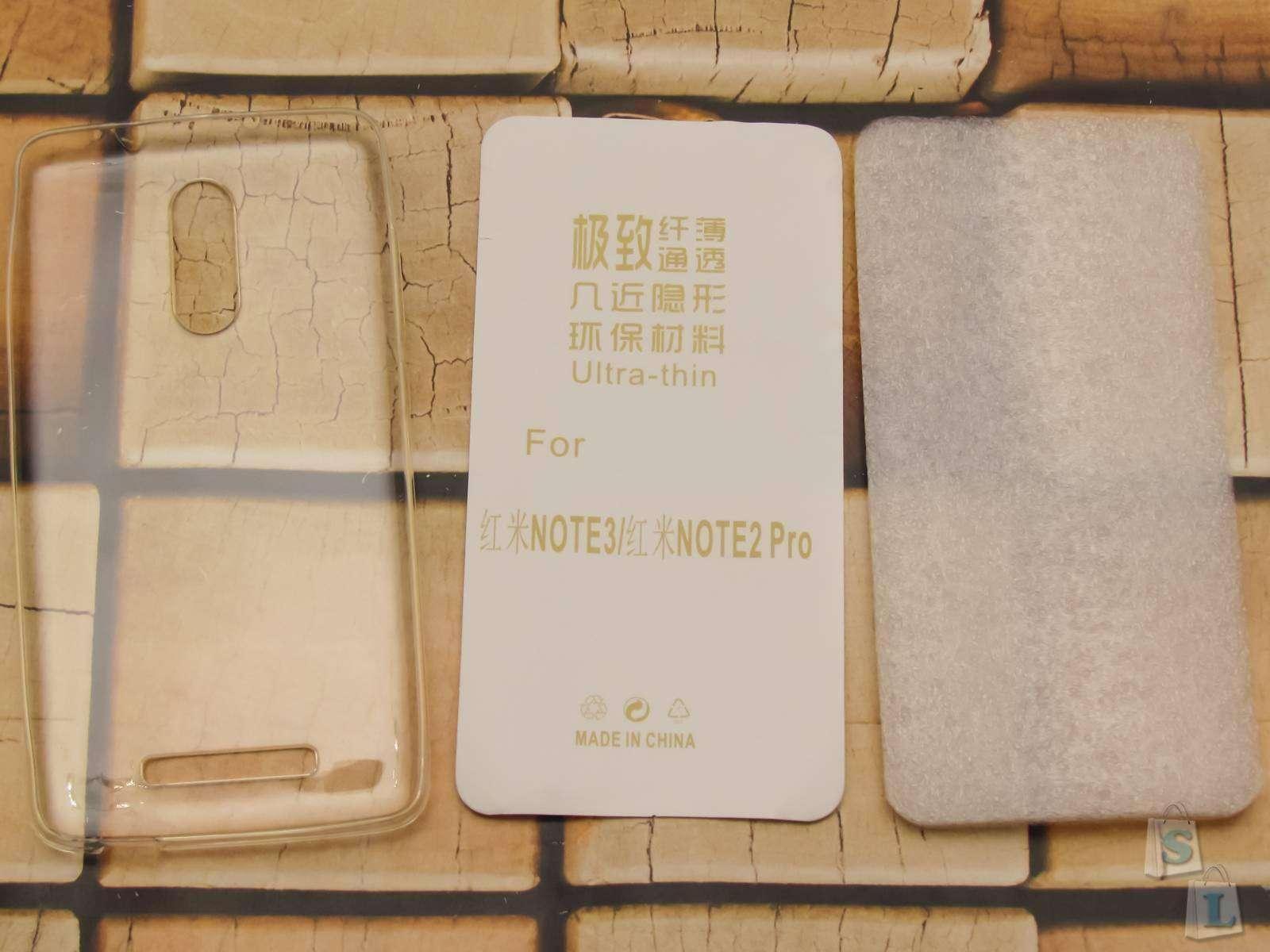 GearBest: Прозрачный силиконовый чехол на Xiaomi Redmi Note 3