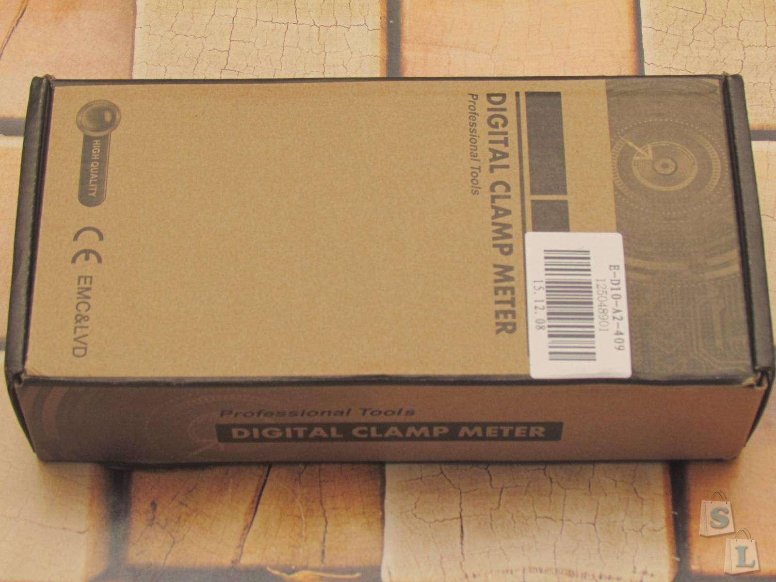 GearBest: Токоизмерительные клещи HYELEC MS2108A